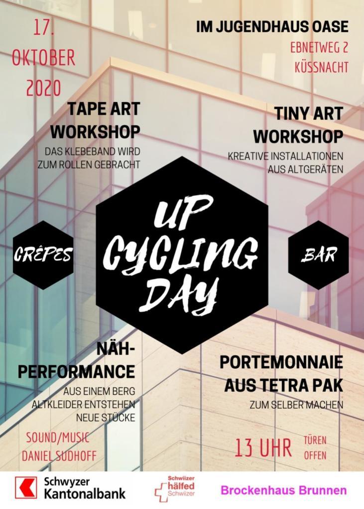 Upcycling Day im Jugendhaus Oase Küssnacht SZ